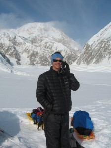 Using a sat phone on Denali